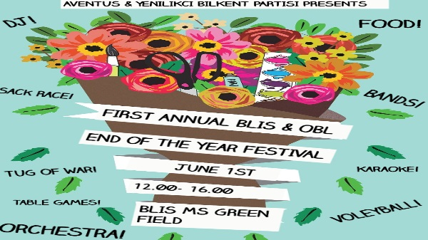 FIRST ANNUAL BLIS  OBL END OF THE YEAR FESTIVAL